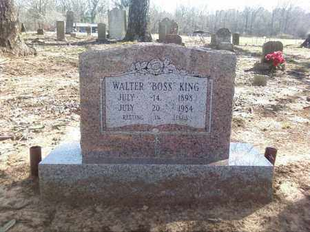 KING, WALTER BOSS - Lonoke County, Arkansas | WALTER BOSS KING - Arkansas Gravestone Photos
