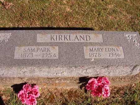 KIRKLAND, MARY EDNA - Lonoke County, Arkansas   MARY EDNA KIRKLAND - Arkansas Gravestone Photos