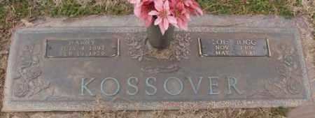 KOSSOVER, HARRY - Lonoke County, Arkansas   HARRY KOSSOVER - Arkansas Gravestone Photos