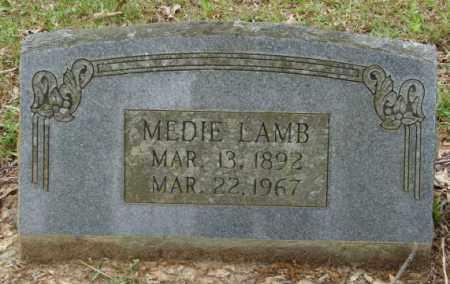 LAMB, MEDIE - Lonoke County, Arkansas   MEDIE LAMB - Arkansas Gravestone Photos