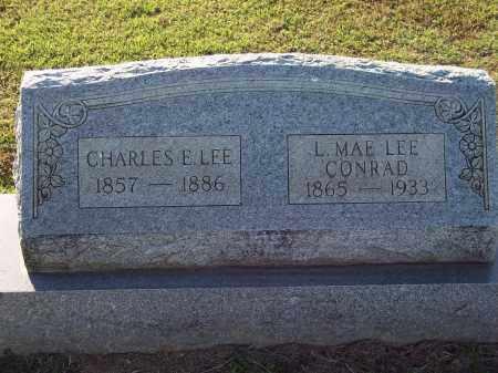 LEE, CHARLES E - Lonoke County, Arkansas | CHARLES E LEE - Arkansas Gravestone Photos