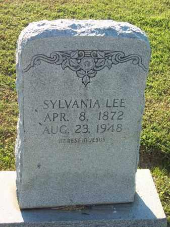 LEE, SYLVANIA - Lonoke County, Arkansas | SYLVANIA LEE - Arkansas Gravestone Photos