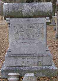LEETH, G  H - Lonoke County, Arkansas | G  H LEETH - Arkansas Gravestone Photos