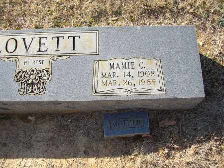 LOVETT, MAMIE C. - Lonoke County, Arkansas | MAMIE C. LOVETT - Arkansas Gravestone Photos
