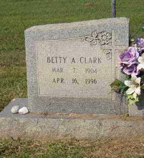 CLARK LUSTY, BETTY A. - Lonoke County, Arkansas   BETTY A. CLARK LUSTY - Arkansas Gravestone Photos