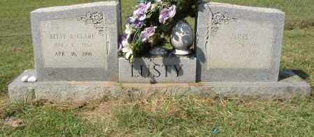 LUSTY, JAMES T. - Lonoke County, Arkansas | JAMES T. LUSTY - Arkansas Gravestone Photos