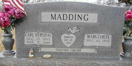 MADDING, CARL HERSHAL - Lonoke County, Arkansas | CARL HERSHAL MADDING - Arkansas Gravestone Photos