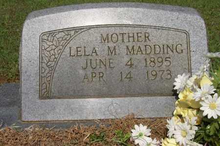 MADDING, LELA M. - Lonoke County, Arkansas | LELA M. MADDING - Arkansas Gravestone Photos