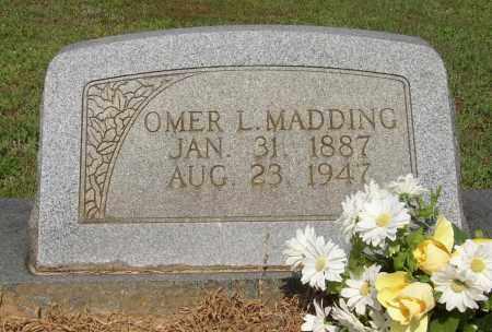 MADDING, OMER L. - Lonoke County, Arkansas   OMER L. MADDING - Arkansas Gravestone Photos
