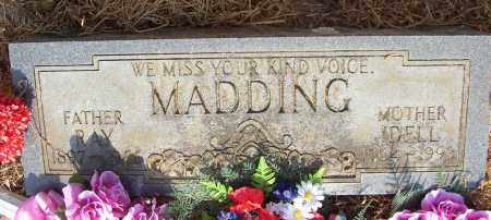 MADDING, IDELL - Lonoke County, Arkansas | IDELL MADDING - Arkansas Gravestone Photos