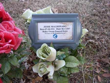 MALDONADO, JESSE - Lonoke County, Arkansas | JESSE MALDONADO - Arkansas Gravestone Photos