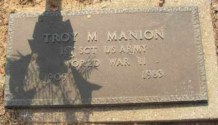 MANION (VETERAN WWII), TROY M - Lonoke County, Arkansas | TROY M MANION (VETERAN WWII) - Arkansas Gravestone Photos