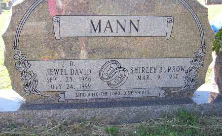 MANN, JEWEL DAVID - Lonoke County, Arkansas   JEWEL DAVID MANN - Arkansas Gravestone Photos