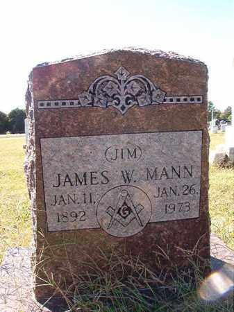 MANN, JAMES W - Lonoke County, Arkansas | JAMES W MANN - Arkansas Gravestone Photos