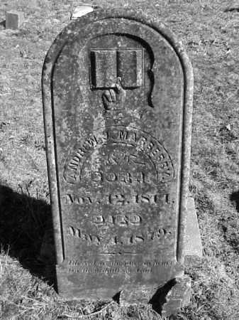 MARBERRY, ANDREW JACKSON - Lonoke County, Arkansas | ANDREW JACKSON MARBERRY - Arkansas Gravestone Photos