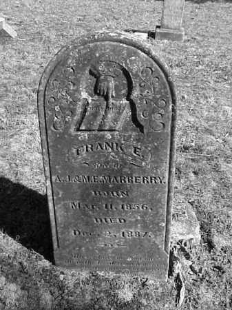 MARBERRY, FRANCIS E. 'FRANK' - Lonoke County, Arkansas   FRANCIS E. 'FRANK' MARBERRY - Arkansas Gravestone Photos