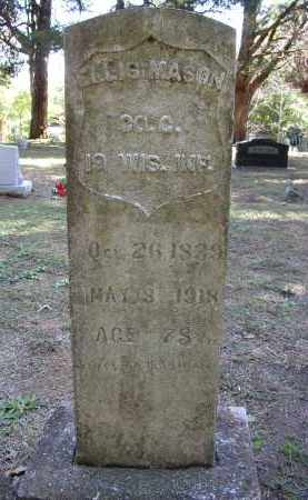 MASON (VETERAN UNION), ELLIS - Lonoke County, Arkansas | ELLIS MASON (VETERAN UNION) - Arkansas Gravestone Photos