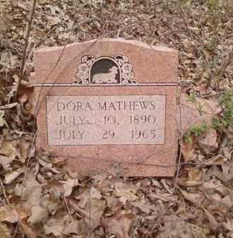 MATHEWS, DORA - Lonoke County, Arkansas | DORA MATHEWS - Arkansas Gravestone Photos