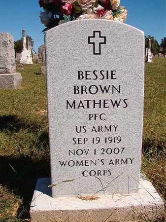 MATHEWS, BESSIE - Lonoke County, Arkansas | BESSIE MATHEWS - Arkansas Gravestone Photos
