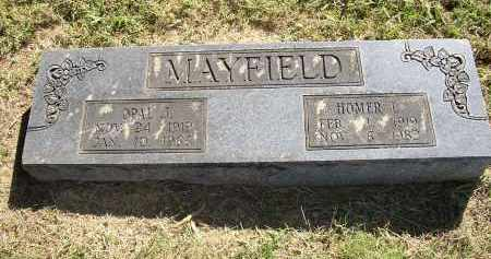 MAYFIELD, HOMER L. - Lonoke County, Arkansas   HOMER L. MAYFIELD - Arkansas Gravestone Photos