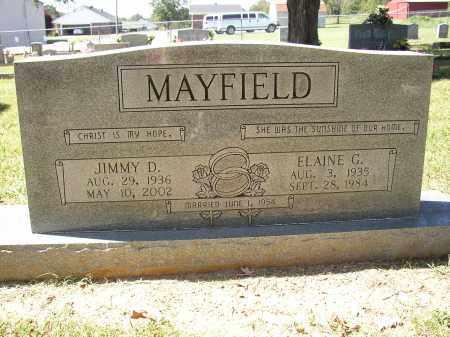MAYFIELD, JIMMY D. - Lonoke County, Arkansas | JIMMY D. MAYFIELD - Arkansas Gravestone Photos