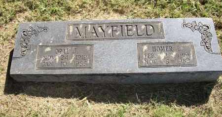 MAYFIELD, OPAL J. - Lonoke County, Arkansas | OPAL J. MAYFIELD - Arkansas Gravestone Photos