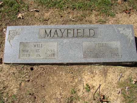 MAYFIELD, WILLIE - Lonoke County, Arkansas | WILLIE MAYFIELD - Arkansas Gravestone Photos