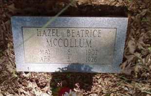 MCCOLLUM, HAZEL BEATRICE - Lonoke County, Arkansas | HAZEL BEATRICE MCCOLLUM - Arkansas Gravestone Photos