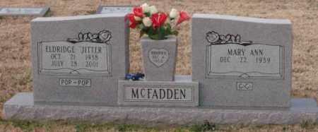 MCFADDEN, ELDRIDGE JITTER - Lonoke County, Arkansas | ELDRIDGE JITTER MCFADDEN - Arkansas Gravestone Photos