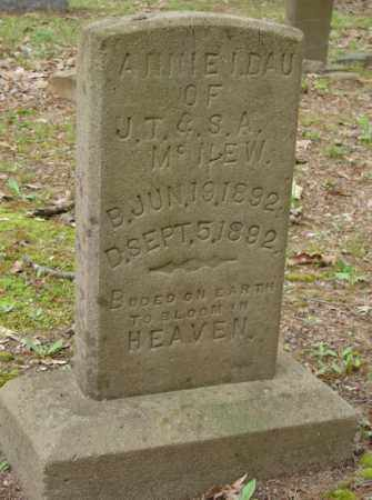 MCNEW, ANNIE I. - Lonoke County, Arkansas | ANNIE I. MCNEW - Arkansas Gravestone Photos