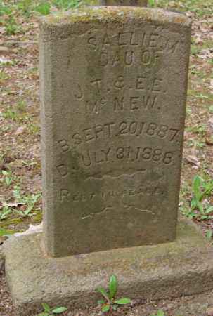 MCNEW, SALLIE M. - Lonoke County, Arkansas | SALLIE M. MCNEW - Arkansas Gravestone Photos