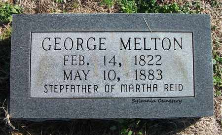 MELTON, GEORGE - Lonoke County, Arkansas | GEORGE MELTON - Arkansas Gravestone Photos