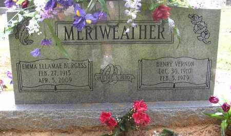 MERIWEATHER, HENRY VERNON - Lonoke County, Arkansas | HENRY VERNON MERIWEATHER - Arkansas Gravestone Photos