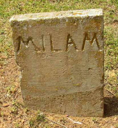 MILAM, #3 - Lonoke County, Arkansas | #3 MILAM - Arkansas Gravestone Photos
