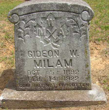 MILAM, GIDEON W. - Lonoke County, Arkansas | GIDEON W. MILAM - Arkansas Gravestone Photos