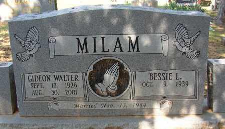 MILAM (VETERAN 2 WARS), GIDEON WALTER - Lonoke County, Arkansas | GIDEON WALTER MILAM (VETERAN 2 WARS) - Arkansas Gravestone Photos