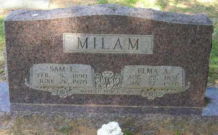MILAM, SAM E. - Lonoke County, Arkansas | SAM E. MILAM - Arkansas Gravestone Photos