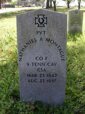 MONTAGUE (VETERAN CSA), NATHANIEL A. - Lonoke County, Arkansas | NATHANIEL A. MONTAGUE (VETERAN CSA) - Arkansas Gravestone Photos