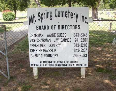 *MOUNTAIN SPRINGS CEMETERY, . - Lonoke County, Arkansas | . *MOUNTAIN SPRINGS CEMETERY - Arkansas Gravestone Photos