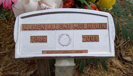 MULHERIN, KAREN ALLENE - Lonoke County, Arkansas | KAREN ALLENE MULHERIN - Arkansas Gravestone Photos
