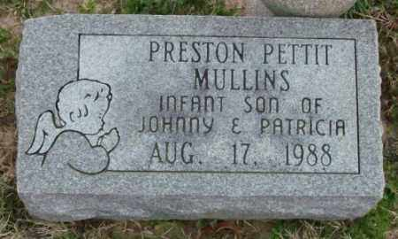 MULLINS, PRESTON PETTIT - Lonoke County, Arkansas | PRESTON PETTIT MULLINS - Arkansas Gravestone Photos