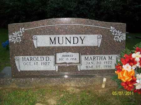 COLEMAN MUNDY, MARTHA MURNELL - Lonoke County, Arkansas | MARTHA MURNELL COLEMAN MUNDY - Arkansas Gravestone Photos