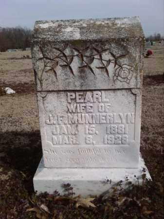 MUNNERLYN, PEARL - Lonoke County, Arkansas   PEARL MUNNERLYN - Arkansas Gravestone Photos