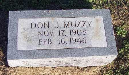 MUZZY, DON J - Lonoke County, Arkansas   DON J MUZZY - Arkansas Gravestone Photos