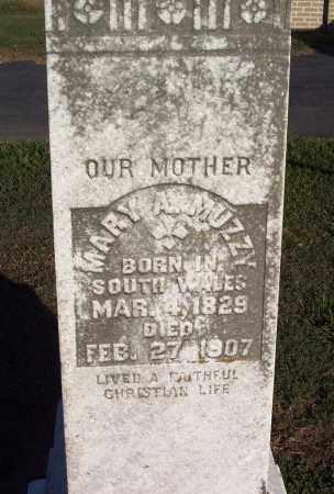 MUZZY, MARY A - Lonoke County, Arkansas   MARY A MUZZY - Arkansas Gravestone Photos
