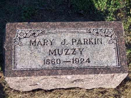 PARKIN MUZZY, MARY J - Lonoke County, Arkansas | MARY J PARKIN MUZZY - Arkansas Gravestone Photos
