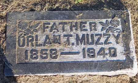 MUZZY, ORLAN T - Lonoke County, Arkansas   ORLAN T MUZZY - Arkansas Gravestone Photos