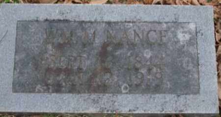 NANCE, WM M - Lonoke County, Arkansas | WM M NANCE - Arkansas Gravestone Photos