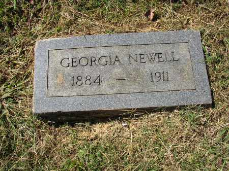 NEWELL, GEORGIA - Lonoke County, Arkansas | GEORGIA NEWELL - Arkansas Gravestone Photos