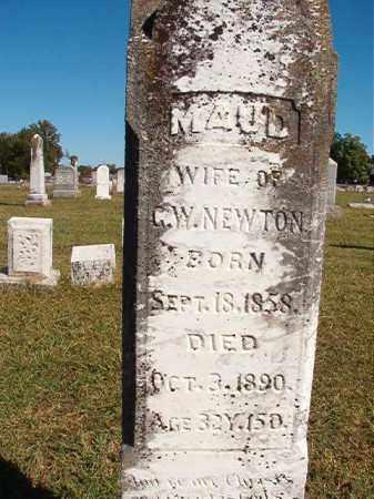 NEWTON, MAUD - Lonoke County, Arkansas   MAUD NEWTON - Arkansas Gravestone Photos
